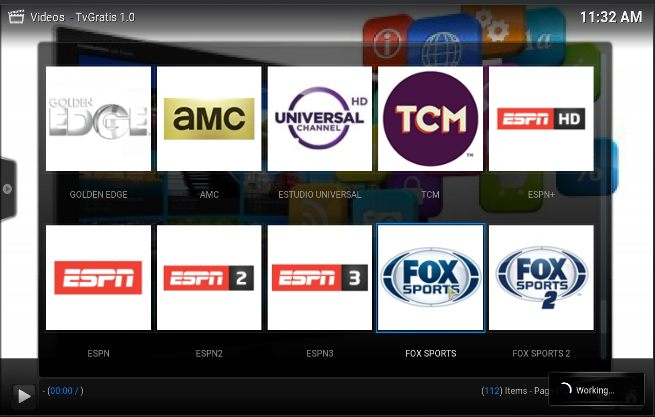 how to watch live tv on xbmc