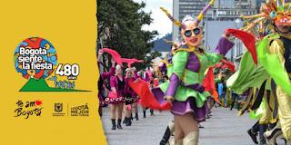 Desfile de comparsas Bogotá 2018 2