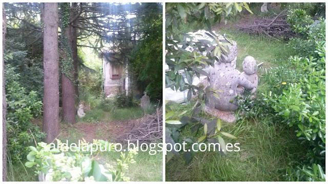 estatuas-mansión-abandonada-gijón