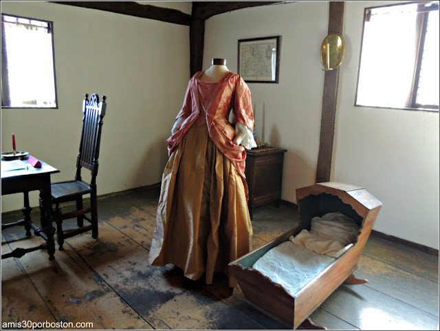 Dormitorio de la Casa de las Brujas