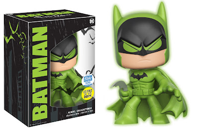 Funko-Shop.com Exclusive Glow in the Dark Green Batman Super Deluxe Vinyl DC Comics Figure by Funko