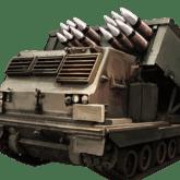 Rocket Artillery - T4 - Jenis Pasukan Pada Mobile Strike