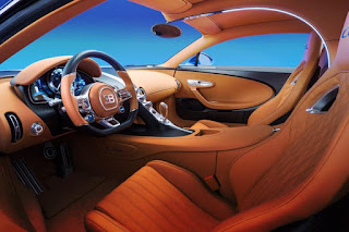 Bugatti Chiron 2016 Super Car Cabin Interior 1