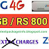 Zong 4G Monthly Internet Package 40GB in 800 Rupees