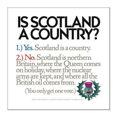 Is Scotland a country?
