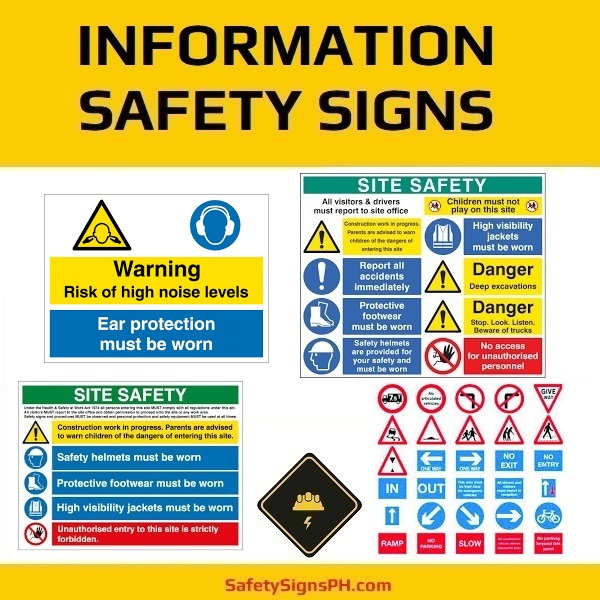 Safety Information Signs Philippines
