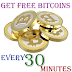 Get Free Bitcoins Every 30 Minutes