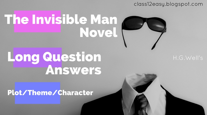 theme of invisible man by hg wells