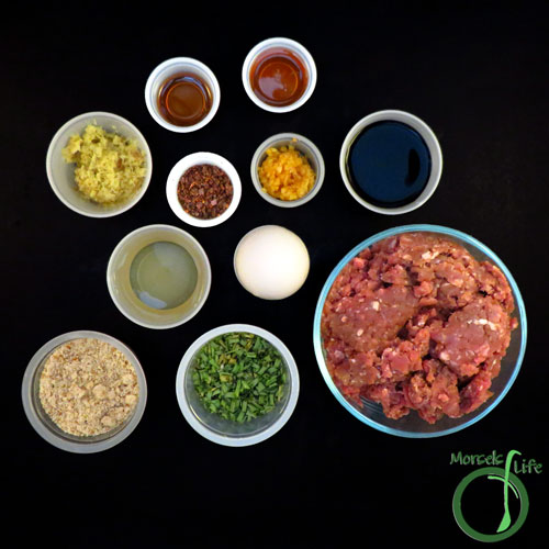 Morsels of Life - General Tso's Meatballs Step 1 - Gather all materials.