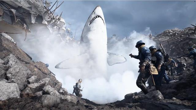 Los tiburones en el mundo de los videojuegos