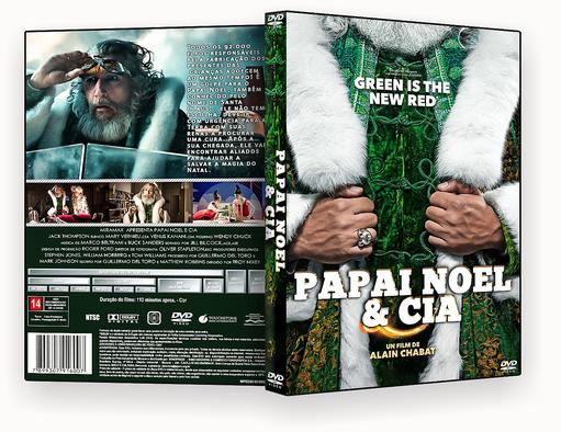 CAPA DVD – Papai Noel & Cia AUTORADO