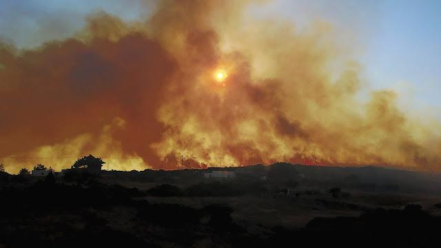 """""""Ενωτική Αγωνιστική Κίνηση Πυροσβεστών"""": Για τις μεγάλες καταστροφές από την πυρκαγιά στα Κύθηρα και τις ευθύνες των αρμοδίων"""