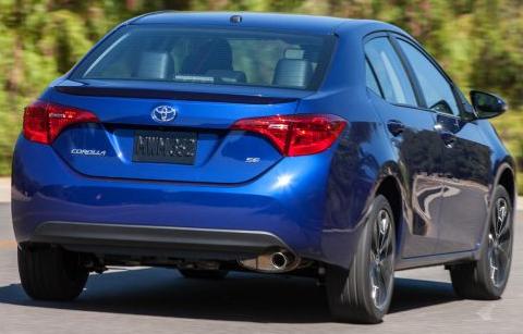 Toyota Corolla 2017 Australia