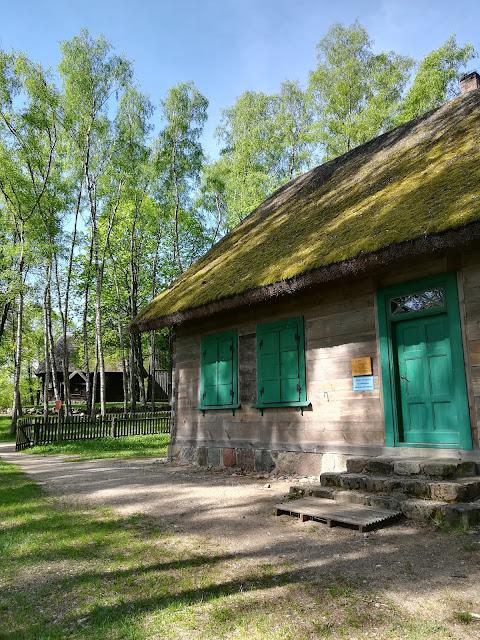 Olsztynek- muzeum skansen budownictwa ludowego