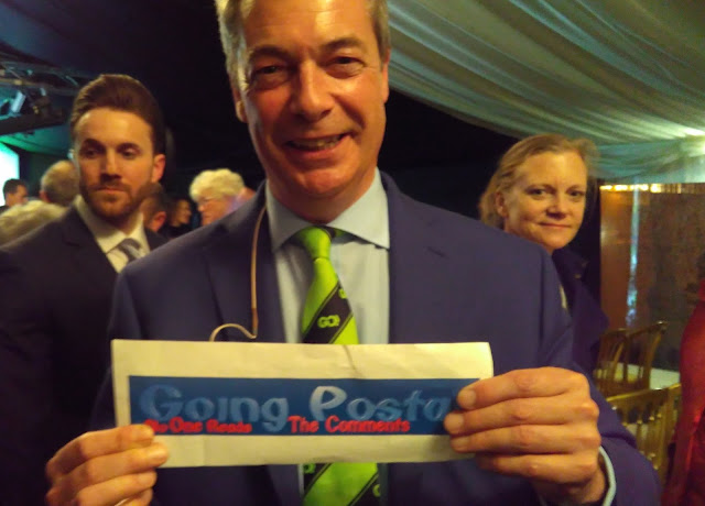 Nigel Farage Going Postal