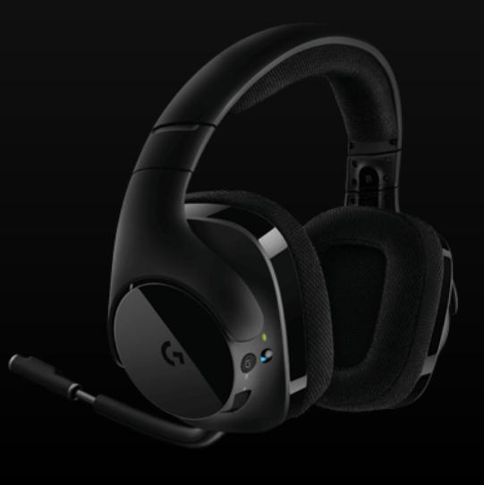 Logitech G533 Advanced Audio Performance and DTS Headphone:X 7.1 Surround Sound Audio