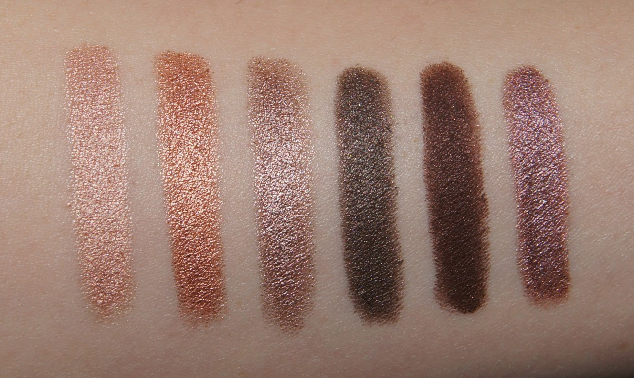 laura mercier caviar stick eye colour collection review swatches rose gold copper moonlight khaki cocoa amethyst