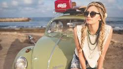 Miss, Sunny, Ocean, Beach