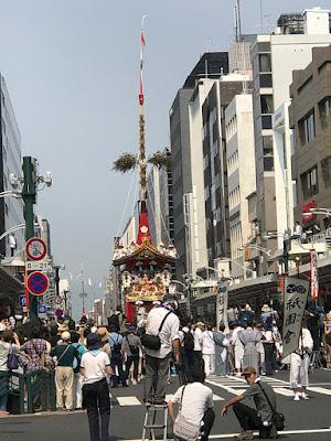 祇園祭 前祭巡行