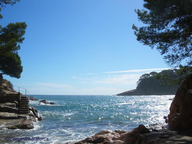 Cales de Begur, senderisme, excursions fàcils per la Costa Brava
