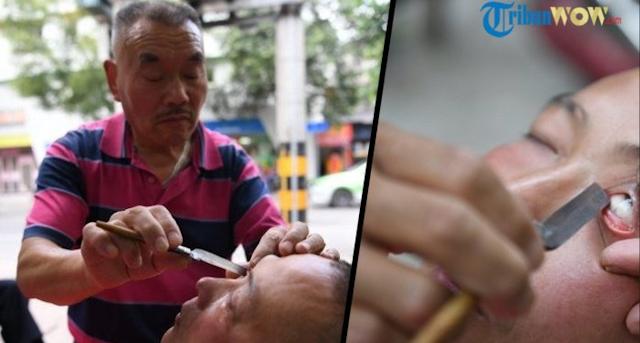 Masukkan Pisau ke Mata Pasien, Ternyata Ini yang Dilakukan Kakek 62 Tahun, Bikin Kamu Ngilu