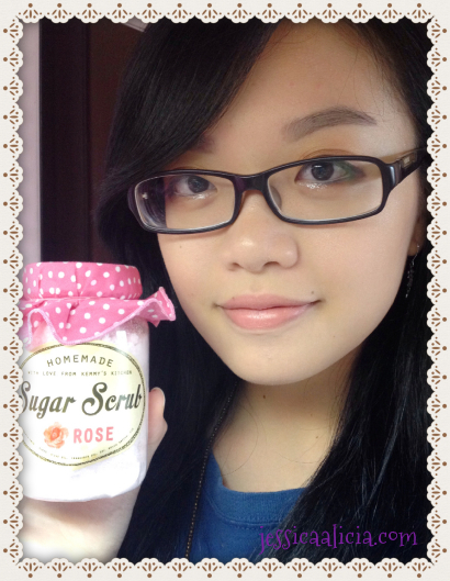 Review : Homemade Sugar Scrub Aromatherapy by PrettyRecipe by Jessica Alicia