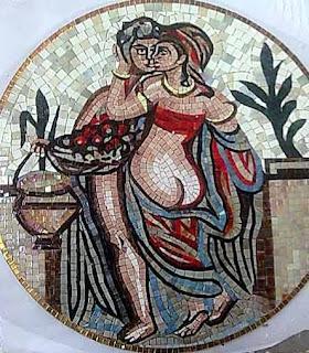 mosaici copie romane