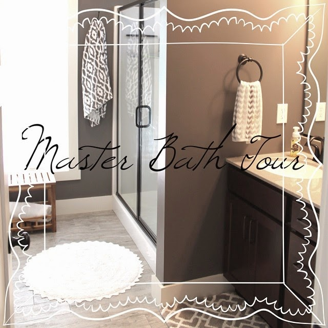 Master Bath Wall Art {& Tour)