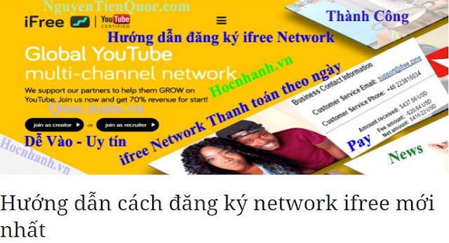 cách đăng ký network ifree