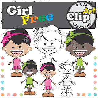 Free Girl Clip Art