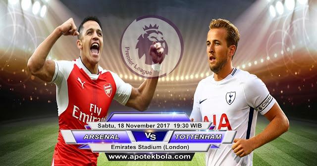 Arsenal vs Tottenham Hotspur 18 November 2017