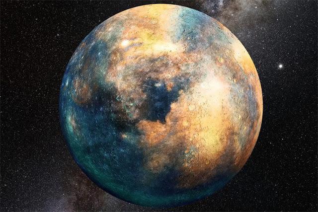 planeta 10 - ilustração artística