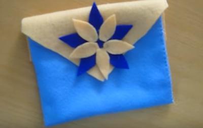 cara membuat dompet dengan kain cara mudah