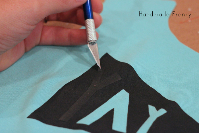 "The Fashionable Type - ""YAY Banner Tee Tutorial"""