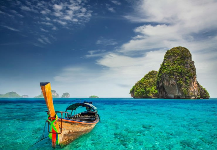 33 Amazing Beaches From Around The World - Ao Nang, Krabi, Thailand