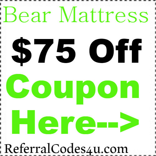 $75 off Bear Mattress Promo Code, Discount and Reviews 2019 Jan, Feb, March, April, May, June