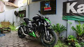 Bursa Moge Bekas Kawasaki Z800 2015 ABS