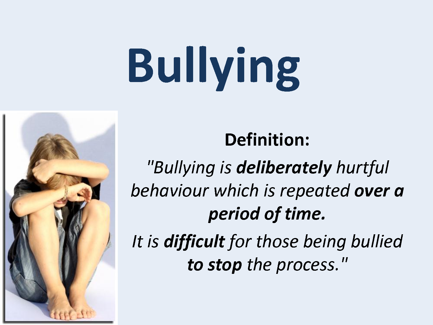 All About Bullying Blog Post 1 Definition Of Bullying