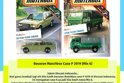 Bocoran Matchbox Case P 2019 (Mix 6)