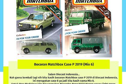 Bocoran Matchbox Case P 2019 (Mix 6)