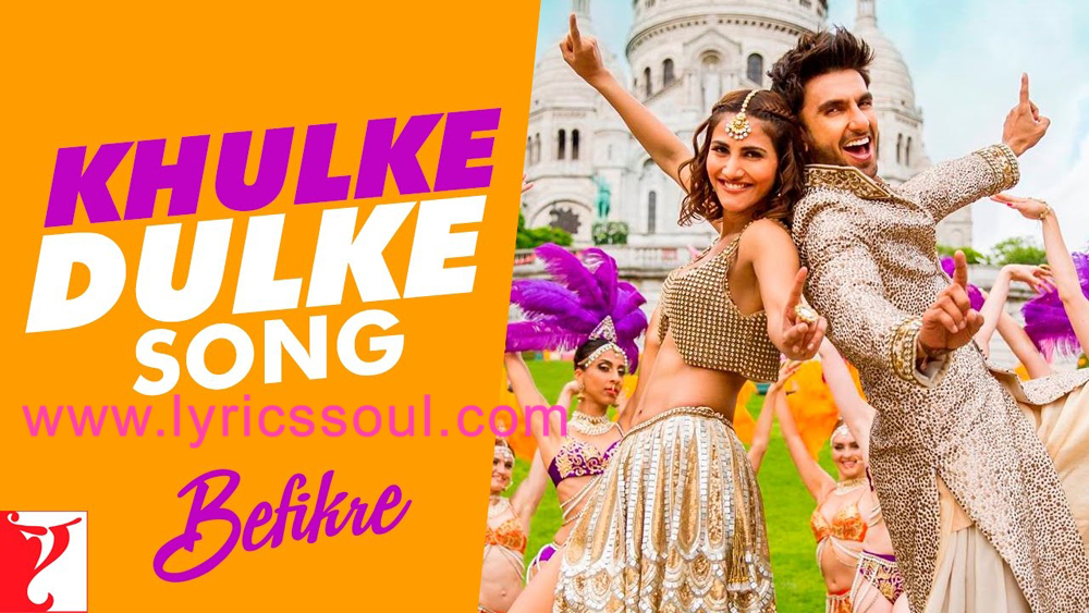 The Khulke Dulke lyrics from '', The song has been sung by Gippy Grewal, Harshdeep Kaur, . featuring Ranveer Singh, Vaani Kapoor, , . The music has been composed by Vishal – Shekhar, , . The lyrics of Khulke Dulke has been penned by Jaideep Sahni,