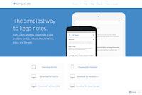 Simplenote ホームページ