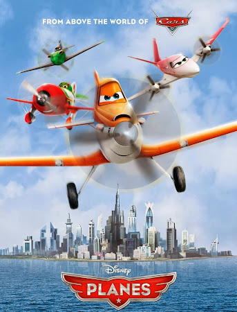 Poster Of Planes 2013 In Hindi Bluray 720P Free Download