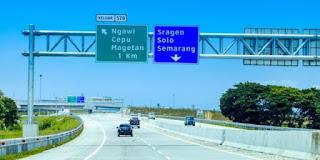 Tol Trans Jawa Satu Arah