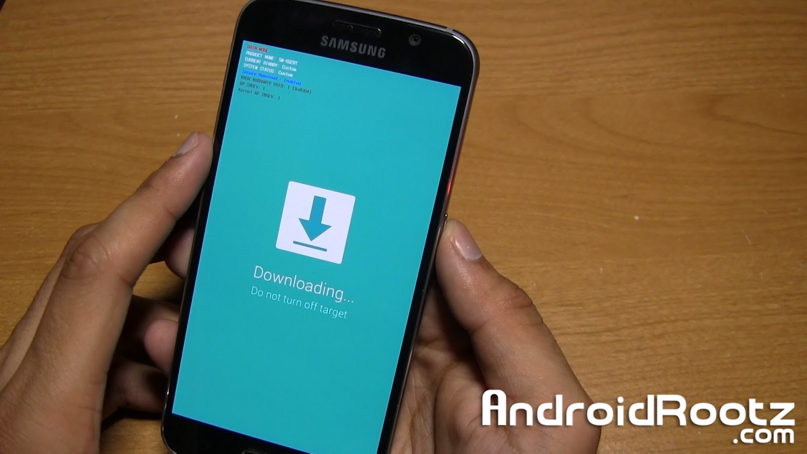 How to Enter into Download Mode on the Galaxy S6 and Galaxy