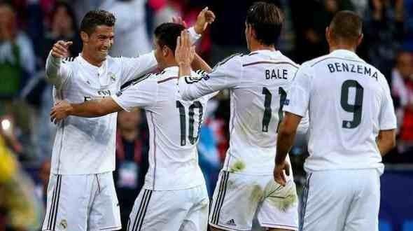 ريال مدريد يتمكن من الفوز على فياريال بثلاثه اهداف مقابل هدفين ضمن الدوري الاسباني