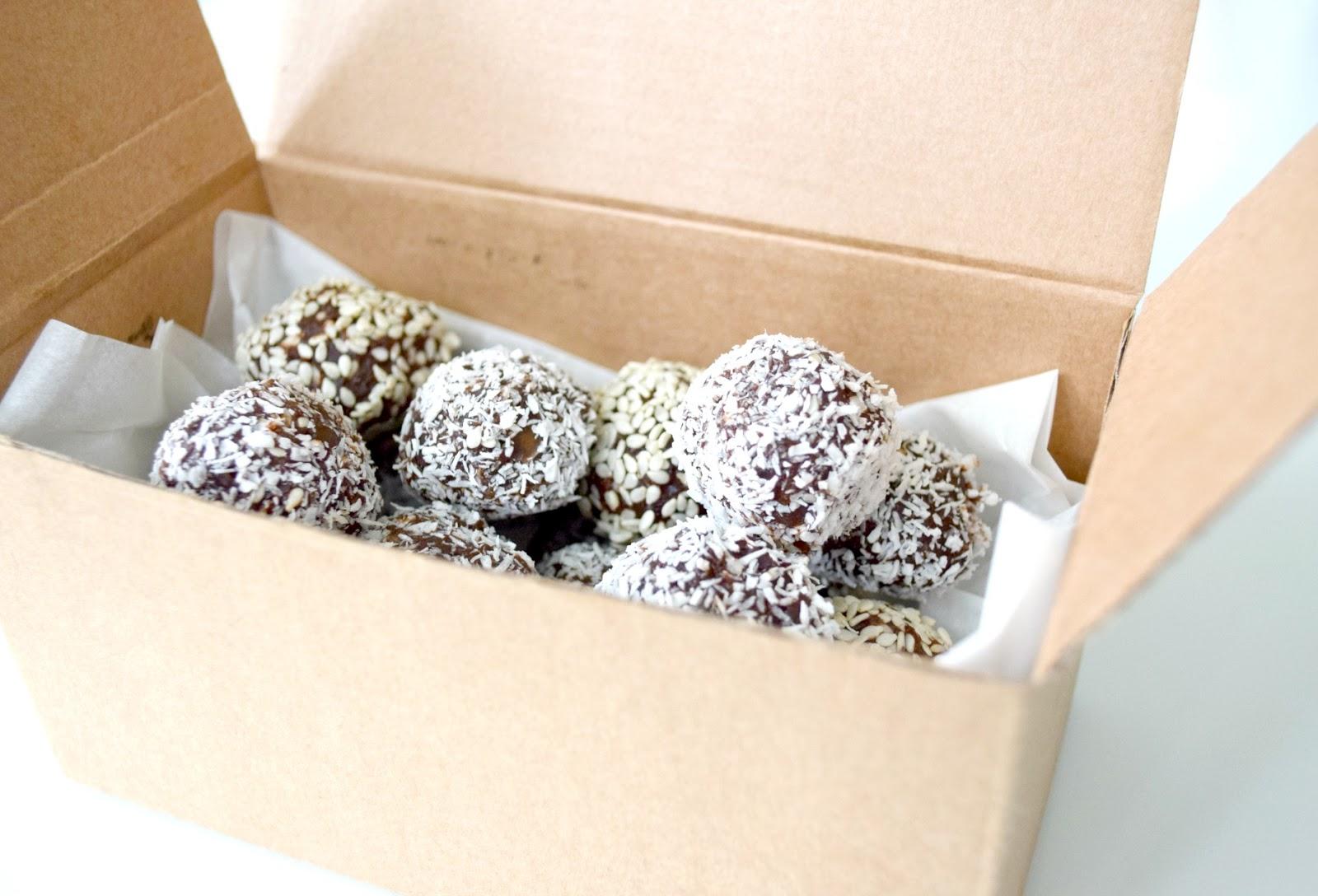 pralinki z czekolady