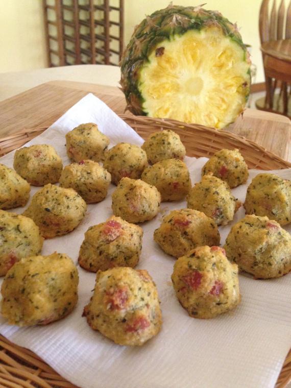 Paleo Cauliflower Hawaiian Balls Recipe