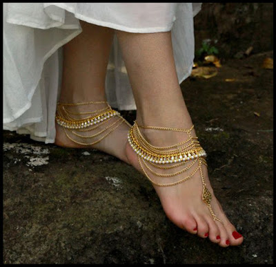 Anklets In Pure Gold