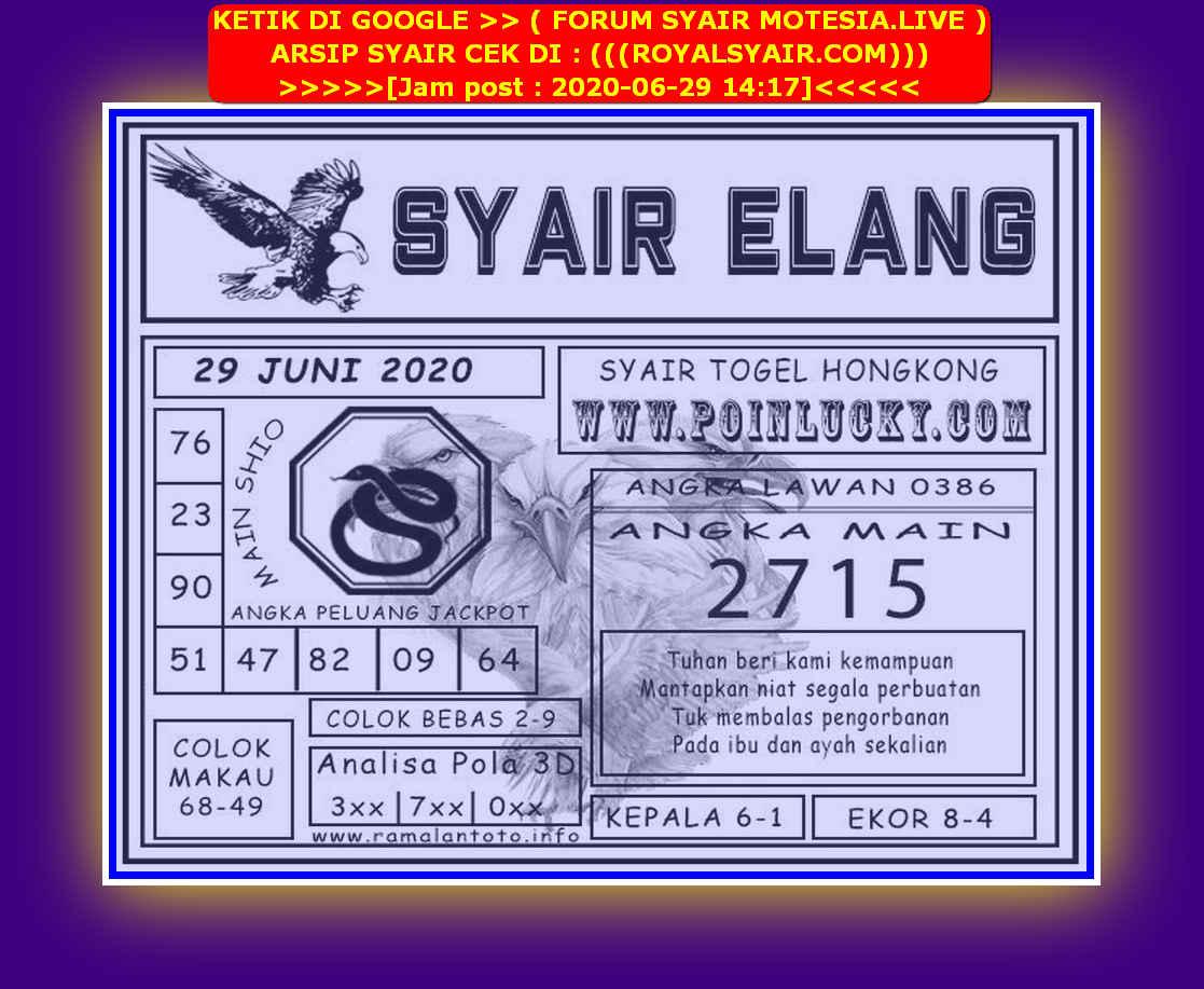 Kode syair Hongkong Senin 29 Juni 2020 229